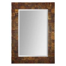 "46.25""H x 33.375""W Rectangular Raised Square Frame Mirror, 90021"