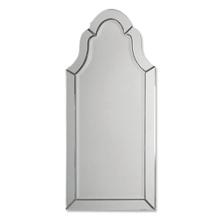 "43.5""H x 20.5""W Frameless Arched Mirror, 90025"