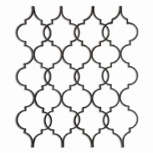 "48""W x 53""H Metal Trellis Wall Art, 90035"