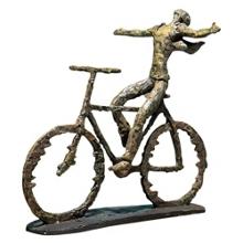 Decorative Metal Bike Sculpture, 90055
