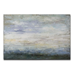 """60""""W x 40""""H Free Fall Frameless Canvas Painting, 90063"""