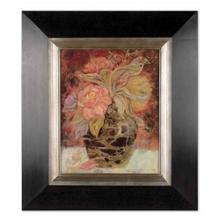 "28""W x 32""H Floral Bunda Framed Oil Reproduction, 90064"