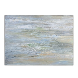 "48""W x 36""H Misty Morning Frameless Art, 90073"
