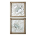 "29""W x 29""H (Each) Set of Two Winter Blooms Framed Wall Art, 90075"