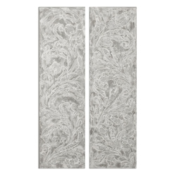 """20""""W x 71""""H (Each) Set of Two Frost On The Window Wall Art, 90076"""