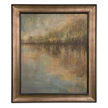 "45""W x 52""H Winter Glow Framed Wall Art, 90090"
