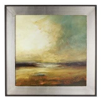 """45""""W x 45""""H New Land Framed Wall Art, 90095"""