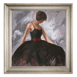 """37""""W x 37""""H Evening Out Framed Wall Art, 90101"""