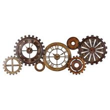 Spare Parts Metal Wall Clock, 91240