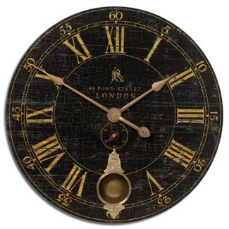 """30"""" Bond Street Wall Clock, 87601"""