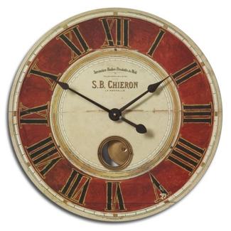 "23"" Internal Pendulum Wall Mountable Clock, 87603"