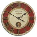 "23"" Internal Pendulum Wall Mountable Clock, 87603"