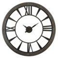 "60""Dia Oversized Rust Gray Open Wall Clock, 87605"