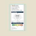 "Single Glass Patient Board with Radius Corners - 16""W x 26""H, 80618"