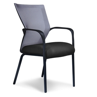 Four-Way Stretch Mesh Mid Back Guest Chair, 50037