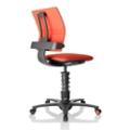 3Dee Black Frame Multi Motion Task Chair, 50891