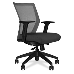 Four-Way Stretch Mesh Mid Back Task Chair, 56026