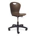 Plastic Task Chair with Casters, 57056