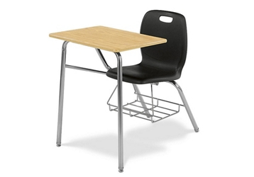 Polypropylene Laminate Tablet Arm Student Chair, 51603