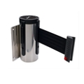 Satin Wall Mounted Barrier with 10ft Cautionary Belt, 87997