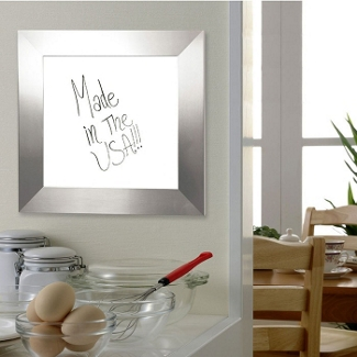 "54""W x 54""H Decorative Framed Whiteboard , 80588"