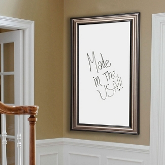 "42""W x 48""H Decorative Framed Whiteboard , 80586"