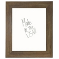 "36""W x 42""H Decorative Wood Framed Whiteboard , 80585"