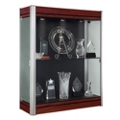 "36""W x 44""H Wall Mounted Display Case, 31862"