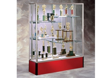 "60"" Wide Spirit Display Case with Mirror Back, 36287"