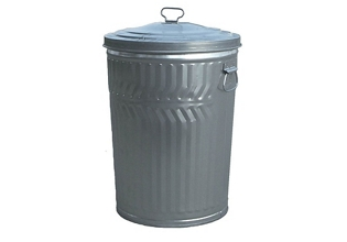 20 Gallon Commercial Duty Waste Receptacle with Lid, 85985