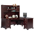 "Right L-Desk with Hutch - 66""W, 14472"