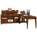 """Storage L-Desk with Shaker Feet - 86""""W, 14476"""