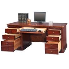 "Double Pedestal Desk - 68""W, 14194"