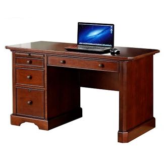"""Single Pedestal Writing Desk - 47""""W, 14196"""
