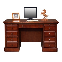 "Compact Computer Desk - 57""W, 14197"