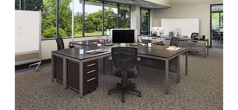 one desk three ways