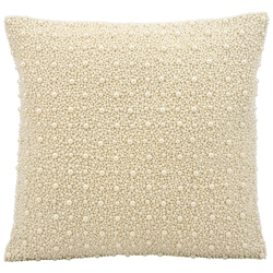"""kathy ireland by Nourison Pearl Square Pillow - 16"""" x 16"""", 82271"""