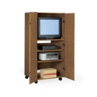 "Mobile Enclosed AV Cabinet for 27"" TV, 43060"
