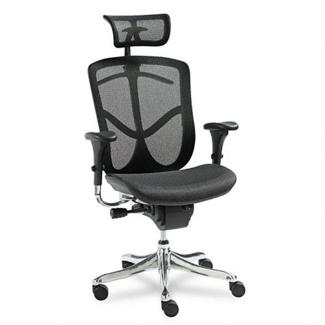 EQ Series High-Back Mesh Chair, 56764
