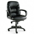 Nico Mid-Back Faux Leather Chair, 56769