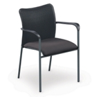 Mesh Back Stack Chair with Arms, CD00046