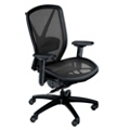 Fluid Ergonomic Mesh Chair with Lumbar Support & Seat Slider, 56773