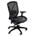 Fluid Ergonomic Mesh Chair with Lumbar Support & Seat Slider, 56773