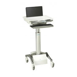 Powered Laptop Cart with LiFe Battery, 60979