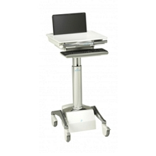Powered Laptop Cart with SLA Battery, 60980