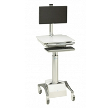 Powered LCD Cart with SLA Battery, 60982
