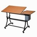 Adjustable Height Split Top Drafting Table, 70196