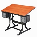 "40"" x 24"" Adjustable Height Drafting Table, 70198"
