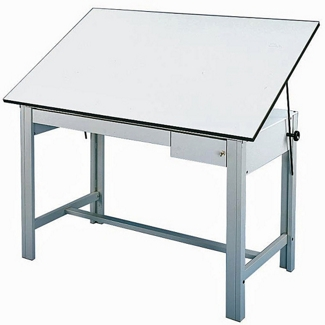 Four Post Drafting Table, 70199