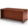 "Rectangular Desk with Recessed Modesty Panel - 72""W, 14168"